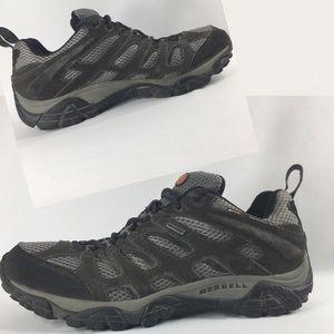 73090b51498 Merrill Moab Waterproof Hikers Lo Boot Men's 10